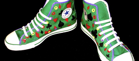 Chuck Taylor Customs: The Joker