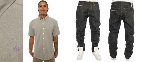 Cotton Pique & Selvedge Jean