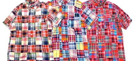 Futura Laboratories Madras Patchwork Shirts