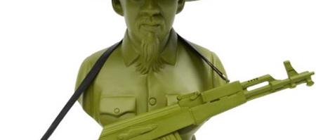 Frank Kozik Ho Chi Minh Busts