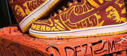 Jimi Hendrix Dunk High by Dezism