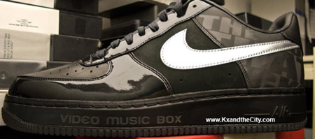 Video Music Box x Nike Air Force 1 25th Anniversary