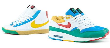 "Nike ""Pantone"" Air Max 1 +Blazer"