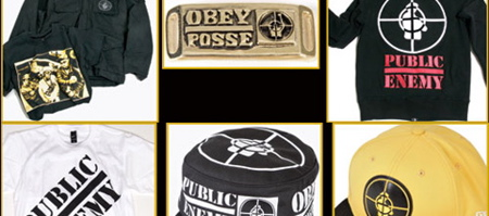 OBEY x Public Enemy Collection