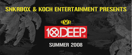 snkrbox inc x Koch Entertainment x 10-DEEP Skateboarding Tour