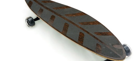 The Dry Leaf Eco-skateboard