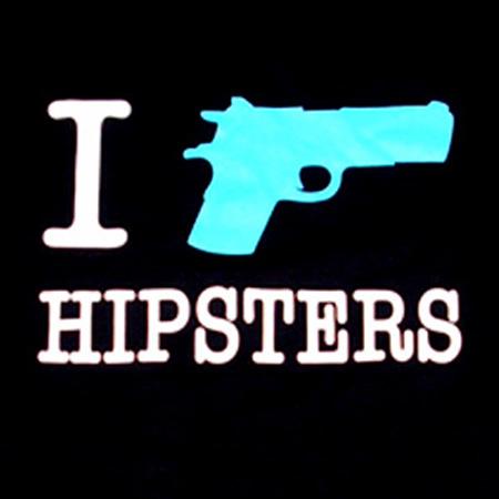 Ironic hipster t shirt