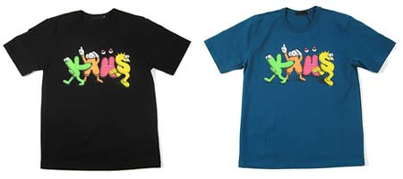 originalfake-kaws-new-text-tee