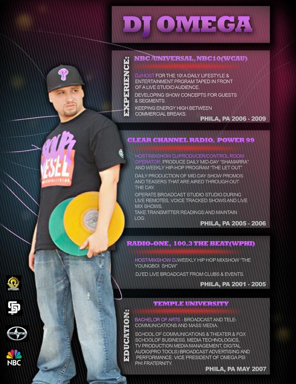 Ejordanill x DJ Omega Resume
