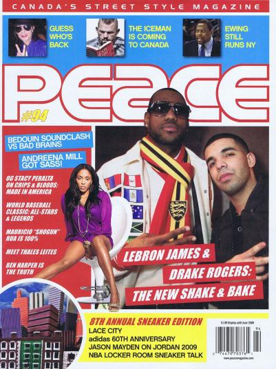 LeBron James x Christopher Bevans 2009