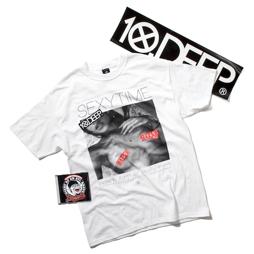 10.Deep x Donnis: Sexytime Tee