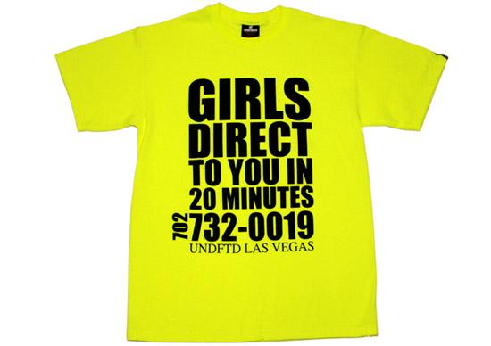 UNDFTD Las Vegas T-Shirt Special