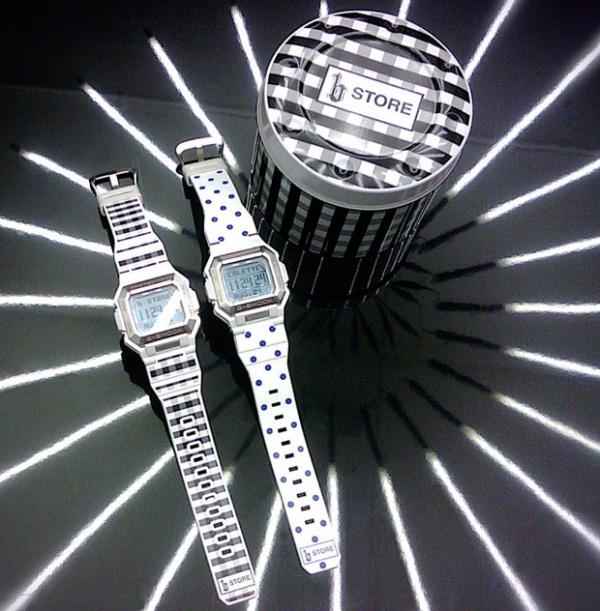 B-Store x G-Shock: 'G-7800P-7' Watches