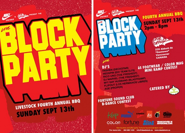 Fourth Annual Livestock Block Party 1