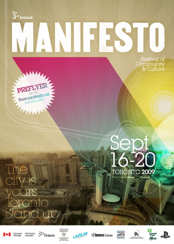 Manifesto Festival 2009