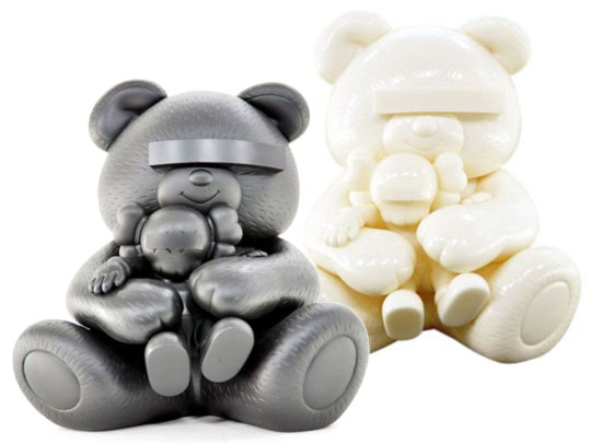 Original Fake x Undercover: 'Bear Companion' Vinyl Toy