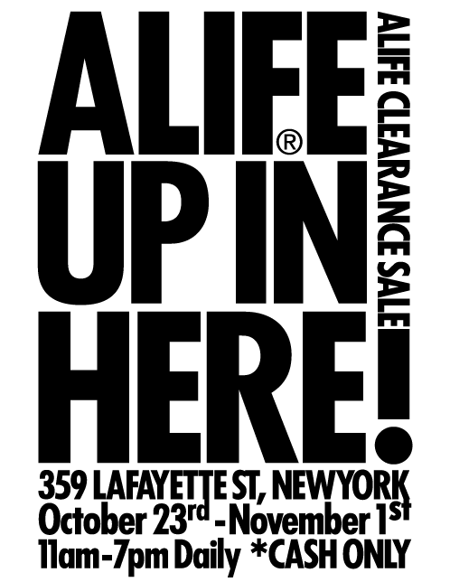 Alife Warehouse Sale 1