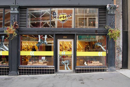 Dr. Martens Pop-Up Shop Opens-1