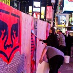 Shepard Fairey x Levi's Times Square Event 5