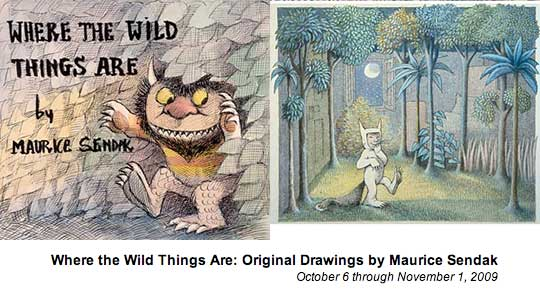 'Where The Wild Things Are Original Drawings By Maurice Sendak' Exhibition