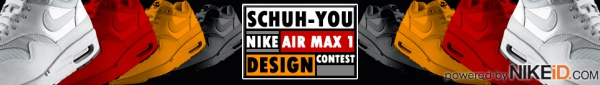Schuch You's Nike Air Max 1 Design Contest