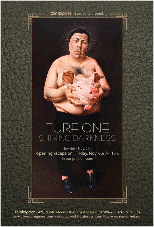 Turf One 'Shining Darkness' Exhibition At Thinkspace 1