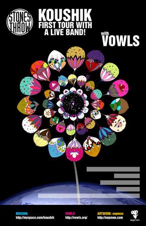 Stones Throw Koushik + VOWLS