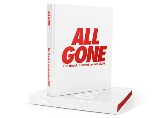 All Gone 2009 Book