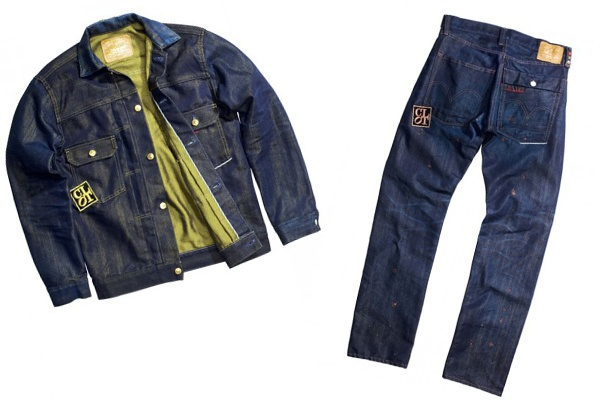 CLOT x Levi's 505 Copper Denim