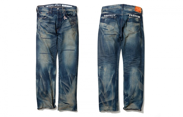 Neighbourhood x Levi's 501 Jeans 1