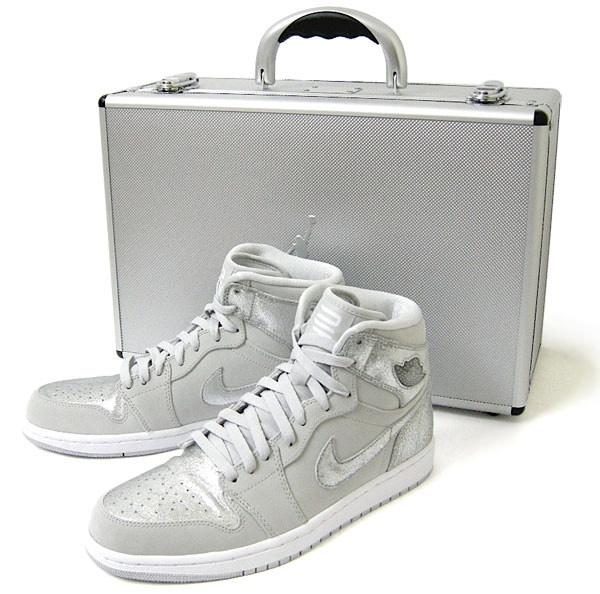 Nike Air Jordan 1 Retro Silver 25th Anniversary Pack 1