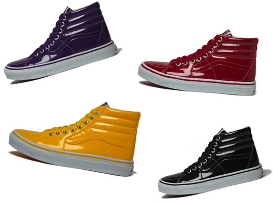 Vans Sk8 Hi Tonal Patent Leather Pack 1