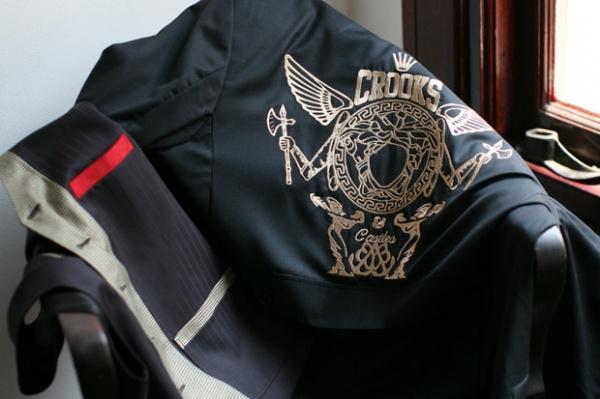 Crooks & Castles x Takeout Enterprises x Elevee Bespoke Suit 1