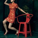Pilu_Wu_Classic_Plastic_Chair_advertisement_with_lady