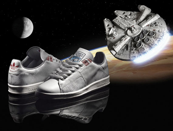 Star Wars x Adidas Stan Smith Milennium Falcon 1