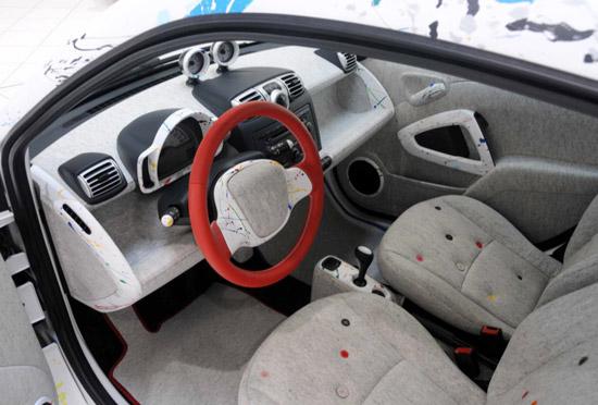 Rolf Sachs x Smart 'Sprinkle' Car 5