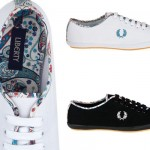 Liberty of London x Fred Perry Blank Canvas Sneakers 01