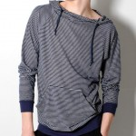 Navy Stripe 'Black Days' Pullover by Nortwick 01