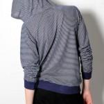 Navy Stripe 'Black Days' Pullover by Nortwick 04