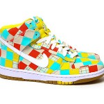 Nike Summer 2010 'Patchwork' Dunk Hi 01
