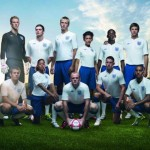 Umbro x Peter Saville England National Football Team 2010 - 2011 Home Kit 01