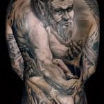 Black and Gray Tattoo Leslie Reesen