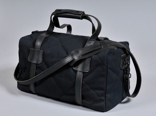 Naked-Famous-Black-Canvas-Duffle