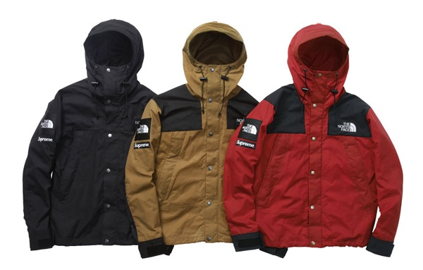 1f08681be8 ... australia supreme and the north face have collaborated to bring fans a  sleek looking mountain jacket