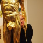 Damien-Hirst-with-Saint-Bartholomew-Exquisite-Pain-2-570x570