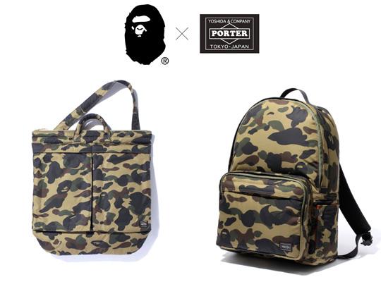 Bape x porter bag collection for Bape x porter backpack
