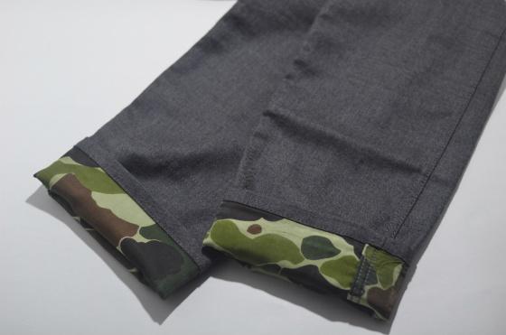 DSC2456 Junya Watanabe MAN Camo Wool Trousers
