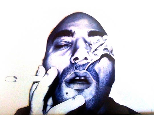 Bic Pen Drawing by Anthony Casiero