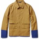 Marni Cotton Blend Contrast Trim Jacket