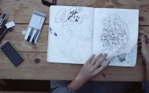 Hypebeast-Pen-and-Paper-Video-with-Nychos